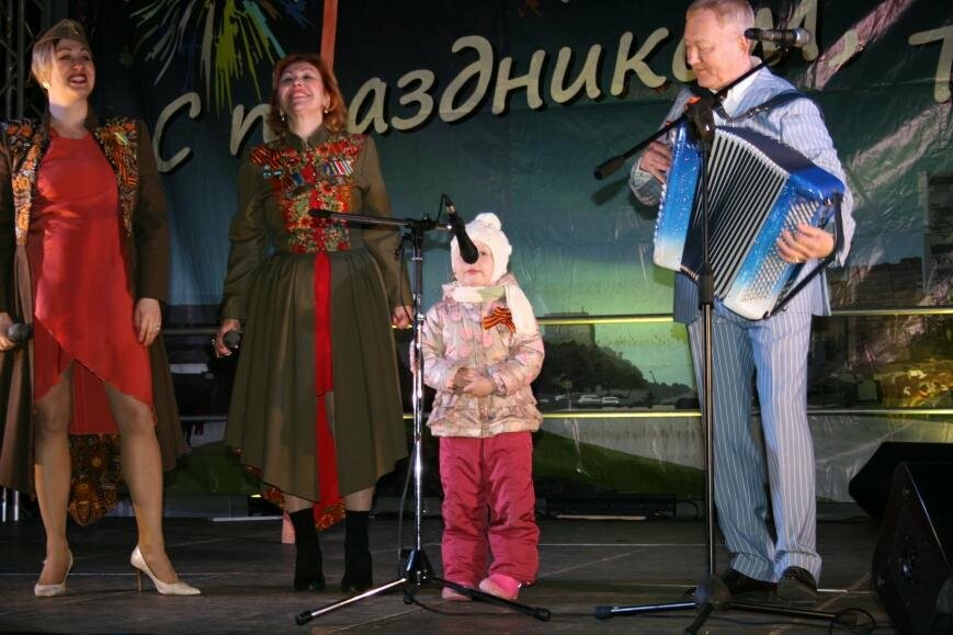 Жители Троицка отметили День Победы, фото-4