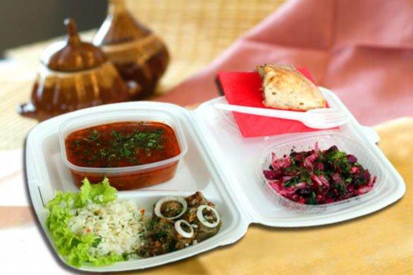 Доставка обедов в Троицк