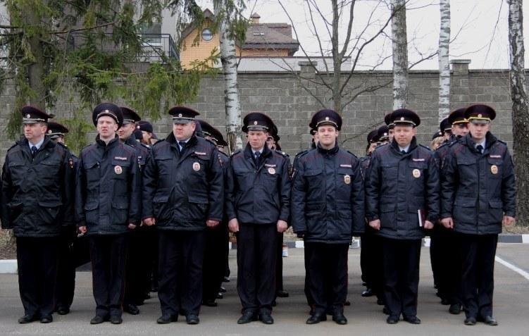 В Троицке прошел строевой смотр личного состава УВД ТиНАО, фото-1