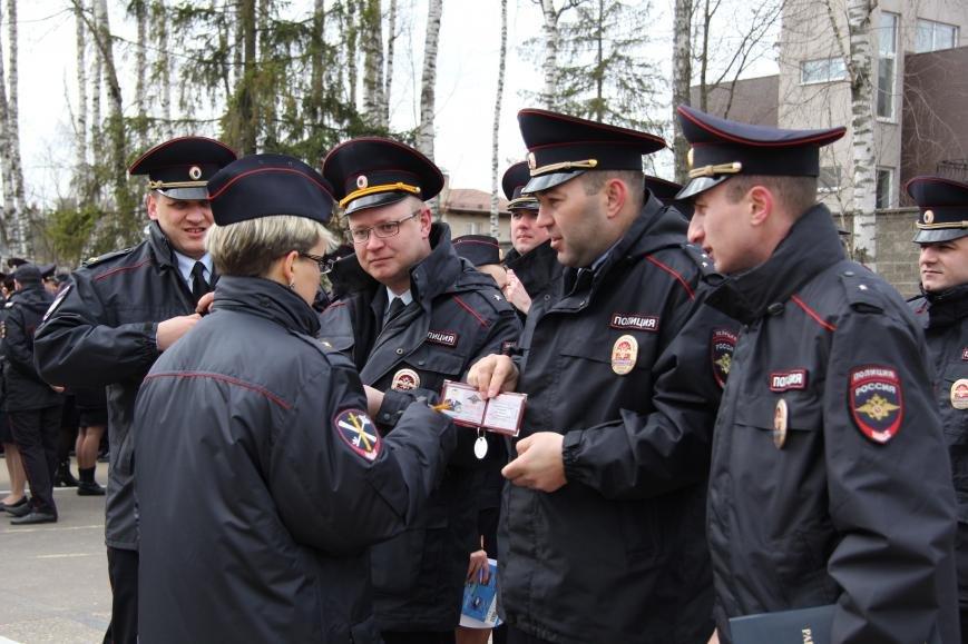 В Троицке прошел строевой смотр личного состава УВД ТиНАО, фото-7