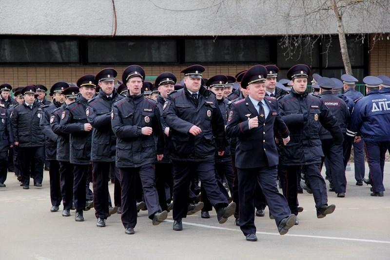 В Троицке прошел строевой смотр личного состава УВД ТиНАО, фото-5