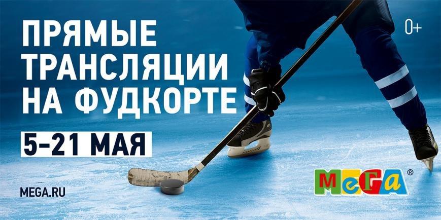 Чемпионат мира по хоккею в Меге Теплый Стан с комментатором Георгием Черданцевым, фото-1