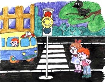 В Троицкой гимназии завершился конкурс рисунков, фото-1