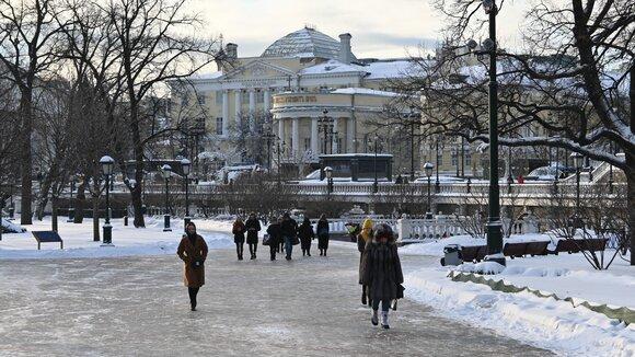 До середины недели в Москве сохранится гололедица, фото-1