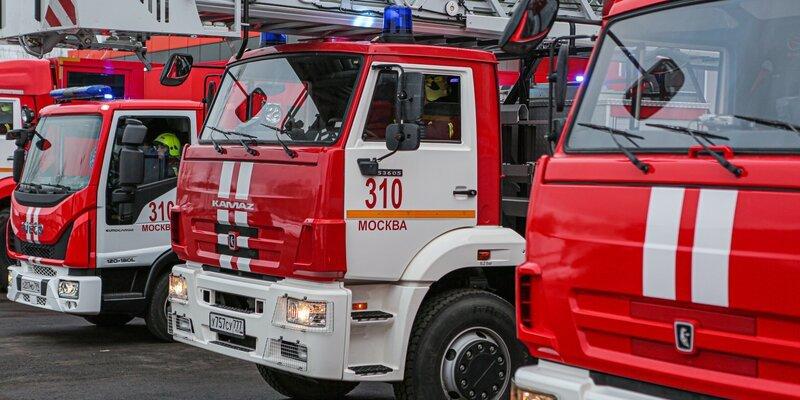 Два года обеспечивает безопасность в ТиНАО пожарно-спасательный отряд № 310 , фото-1