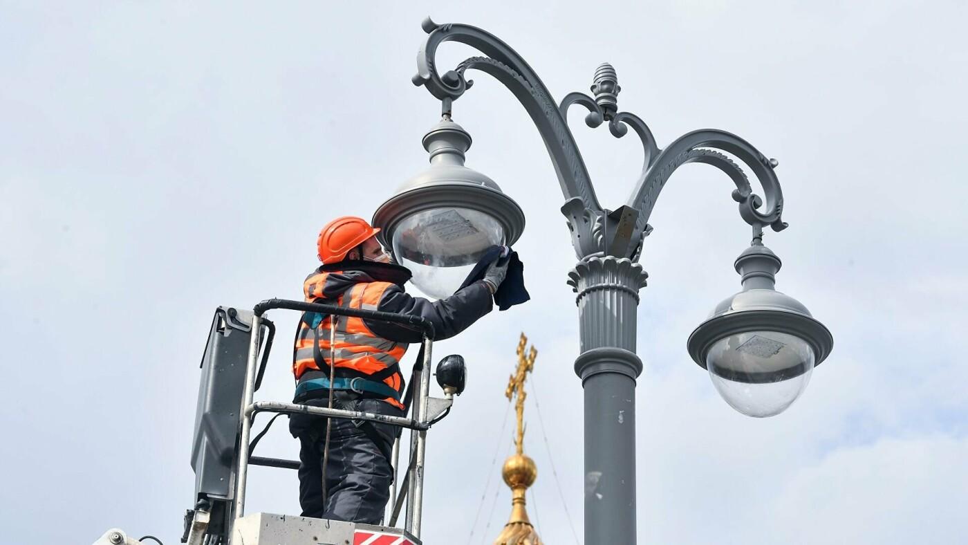ВМоскве доконца 2021 года установят более 25тысяч новых опор освещения , фото-1