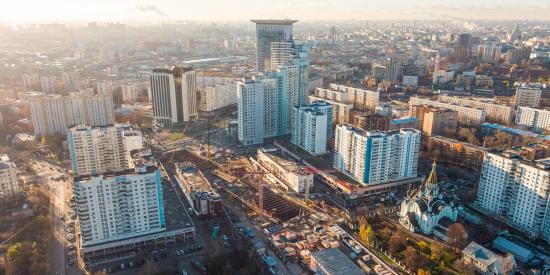 Объемы строительства увеличила Москва, фото-1