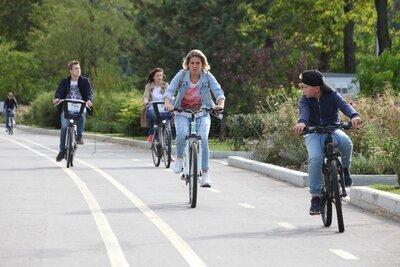 В Троицке открылись три новые станции аренды велосипедов «Велобайк», фото-1